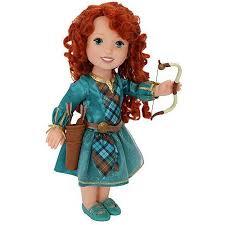 disney princess brave merida doll bow arrows walmart