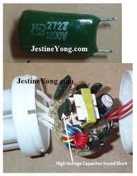 15w compact fluorescent lamp cfl bulb repaired electronics