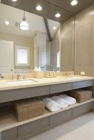 Gray Double Bathroom Vanity Design Ideas - Bathroom counter designs