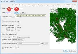 how to use custom trees and objects in worldpainter minecraft