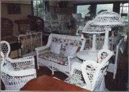 Antique Wicker Maines Largest Antique Wicker Furniture Dealer - Wicker furniture nj