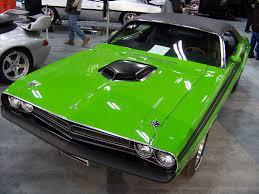Dodge Challenger Green - car10a12 1971 green dodge challenger r t at edmonton car s u2026 flickr
