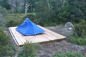 bushwalk australia wiki tent platform