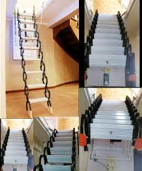 imported electric household retractable attic stair staircase