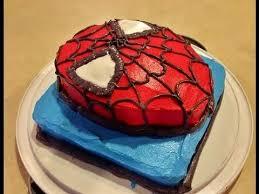 spiderman cake youtube