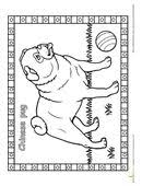 pug puppy ink drawing embellished miniprint 5 25 etsy