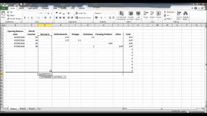 Auto Maintenance Spreadsheet How To Create A Petty Cash Spread Sheet Using Excel Part 3 Youtube