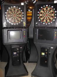 used dart game machines for coin op and home use