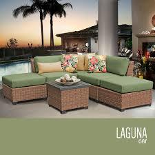 Wicker Patio Furniture Sets - tk classics laguna 6 piece outdoor wicker patio furniture set 06f