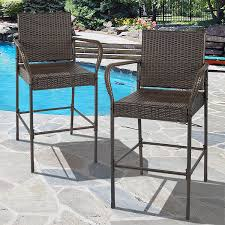 Best Outdoor Furniture by Amazon Com Best Choice Products Set Of 2 Outdoor Brown Wicker