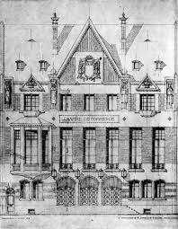 chambre de commerce douai la chambre de commerce de cambrai vitrine de la reconstruction