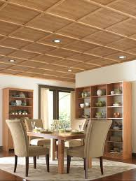 home living room interior design with woodtrack ceiling system by