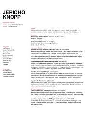 Web Producer Resume Resume U2014 Jericho Knopp