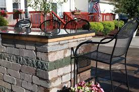 outdoor kitchen contractor baron landscaping