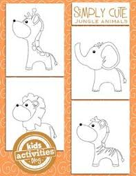 woodland animal coloring pages for kids woodland animals kid