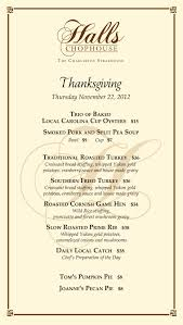 mouthwatering thanksgiving favorites at halls chophouse