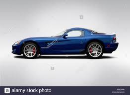 Dodge Viper 2006 - 2006 dodge viper srt 10 coupe in blue drivers side profile stock