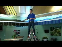 How To Clean A Sunsetter Awning Fabric Awning Cleaning Service Video Marygrove Awnings Youtube