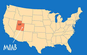 map usa utah moab maps