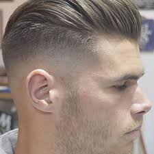 beautiful high bald fade with long pomp with mens long hairstyles