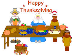 Thanksgiving Pilgrims And Indians Thanksgiving Table Clipart
