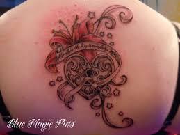 100 locket tattoo no regrets heart locket tattoo designs