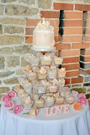 outdoor wedding cake table decorations and created sweets