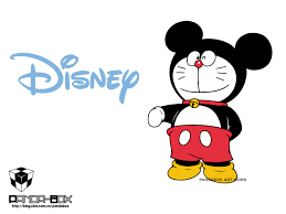 doremon images doremon or mickey mouse hd wallpaper and background