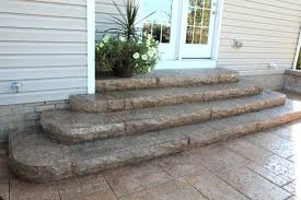 Backyard Steps Ideas Backyard Steps Ideas Appealing Patio With Granite Steps Entrance