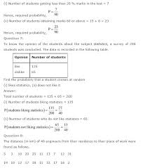 ncert solutions for class 9th maths chapter 15 probability