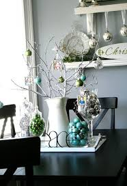 Blue Silver Christmas Decorations Uk by Tags Christmas Decorations Tabletop Decoration Turquoise