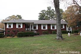 updating a 1950 u0027s brick ranch home southern hospitality