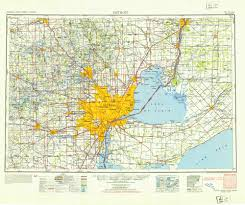 Livonia Michigan Map by See The Rise Of The Motor City Detroit U0027s History In Maps Wired