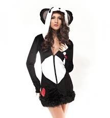 Panda Bear Halloween Costumes Panda Halloween Costume Long Sleeve Zipper Front Piece