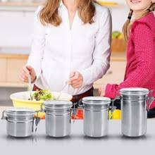 popular stainless steel canisters buy cheap stainless steel