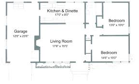 small ranch floor plans 2 bedroom ranch floor plans ideas including for small houses house