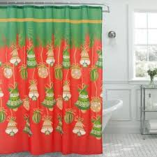 buy christmas shower curtain set from bed bath u0026 beyond