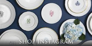 monogrammed plate monogrammed gifts personalized wedding gifts monogrammed