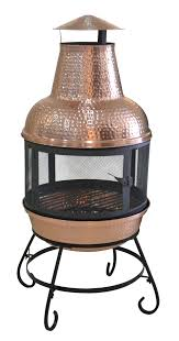 Outdoor Chimney Fireplace by Furniture Outdoor Chimney Fireplace Chimineas Chiminea