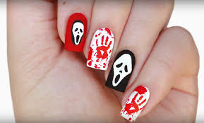 spooky nail art image collections nail art designs