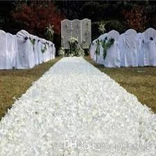 aisle runners 30mwedding aisle runner white flower petal carpet for wedding