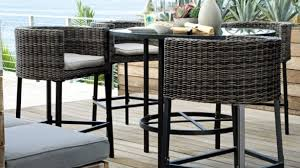 Bar Height Patio Chair Outdoor Bar Height Patio Chairs Leandrocortese Info