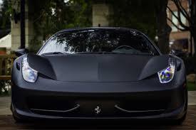 Ferrari 458 All Black - ferrari 458 matte black madwhips