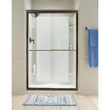 Sterling Finesse Shower Door Sterling Finesse 59 5 8 In X 70 1 16 In Frameless Sliding Shower