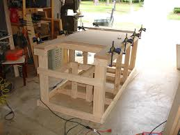 Woodworking Bench Plans Pdf by Backyard Workshop Ultimate Workbench