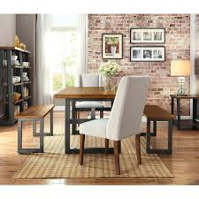 Hickory Chair Bench Mercer Dining Table By American Signature Mercer Concrete Dining