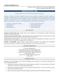 Rpn Sample Resume by Jessica Norris Resume July 2015