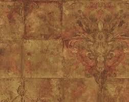 metallic wallpaper etsy