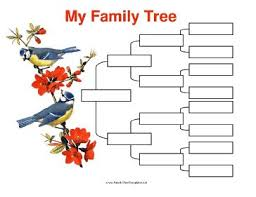 95 best family tree charts templates images on pinterest
