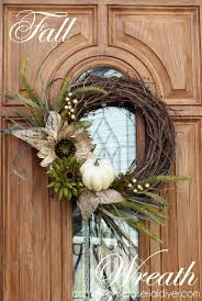 fall wreaths new fall wreath for chic front door hometalk